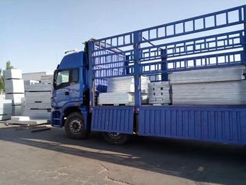 格栅板成品发货运输